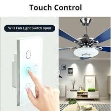 wifi ceiling fan controller wifi smart ceiling fan controller wall switch touch panel fit for wifi wifi ceiling fan