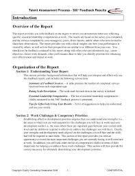 360 Evaluation Adorable Sample 48 Feedback Report Gordon Curphy PhD