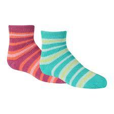 Carhartt Girls Infant Toddler Cozy Thermal Gripper Crew Socks 2 Pair