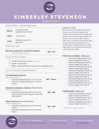 Beautician Resume Format Eliolera Com