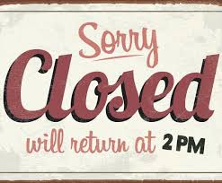 labor day closing sign template template sorry we re closed sign vector illustration of unusual for
