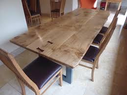 handmade oak extending dining table bespoke