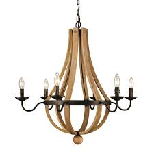 laurel foundry modern farmhouse dimitri 6 light candle style chandelier reviews wayfair