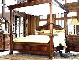 Wood Frame Canopy Bed Wood Canopy Bed Frame King – pekingexpress.info