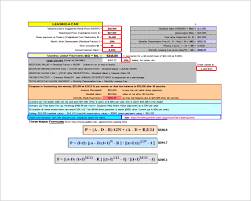 Lease Payment Calculator Adorable Sample Lease Payment Calculator 48 Free Documents In Excel