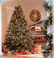 The Best Pre-Lit Artificial Christmas Trees - A Very Cozy Home