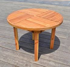 round terrace table options 3 5 ft no seating douglas fir