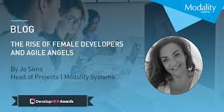 The rise of female developers and Agile Angels