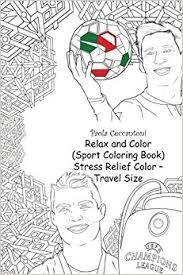 Small Picture Amazoncom Relax and Color Sport Coloring Book Stress Relief