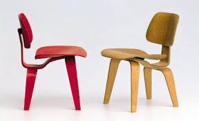 charles and ray eames furniture. Vitra Miniature: Charles And Ray Eames DCW Chair Red Furniture S