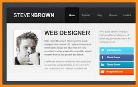 Online Resume Website Superb Resume Website Examples Free Resume