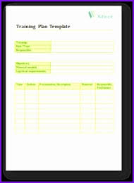 Example Of Training Schedule Template - April.onthemarch.co