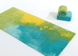 pale yellow bath rug designs