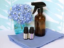 diy essential oils disinfecting spray