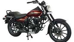 bajaj avenger street gets new colours d from rs 75 500