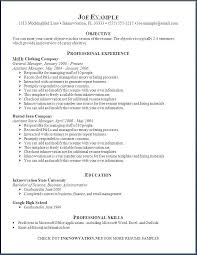 Resume Templates For Word 2003 Free Templates 146971