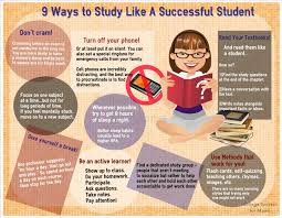 9 ways to study like a successful student college success for moms easelly visual 13