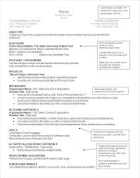 Current Resume Format Examples Resume Setup Examples Resume Formats