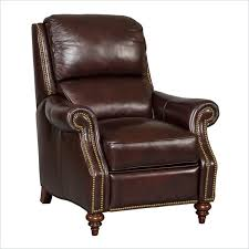 dark brown leather recliner chair. Seven Seas Recliner Chair In Savoy Genevois Dark Brown Leather I