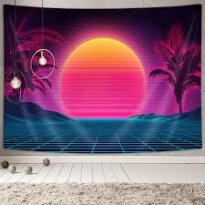 See more ideas about aesthetic, 90s aesthetic, retro aesthetic. Amazon Com Retro 80s Neon Tapestry Wall Decor Futuristic Decor Wall Tapestry Vaporwave Decor Retro Neon Posters Wall Tapestries Aesthetic 90s Wall Art Mustic Room Wall Hanging Tapestry For Home 60x40 Inches Everything