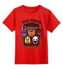 """Детские футболки c необычными принтами """"<b>красный</b>"""" - <b>Printio</b>"""