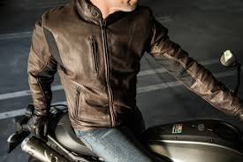 spidi thunderbird leather motorcycle jacket and gloves