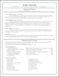 Resume Examples For Rn Best Best New Grad Rn Resume Examples Nursing Resumes For Nurses Adorable
