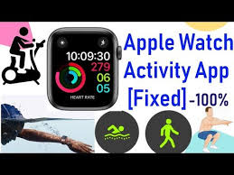why apple watch activity app missing on