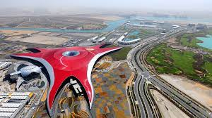 You haven't let us down yet. Ferrari World Ramboll Group