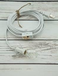 star lantern white mini socket pendant light lamp cord e12 base 11 ft