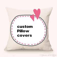 custom pillow covers. Unique Covers Custom Pillow Covers Purchased In Bulk New Jacquard Yarn Dyed Cotton And  Line Car Waist Cases Any Size Sofa Cushion Outdoor Replacement  On T