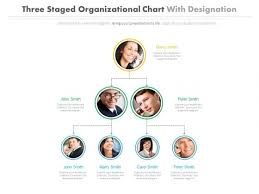 Org Chart Powerpoint Slide Organizational Chart For Top Level Managers Powerpoint
