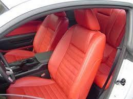 oem red leather seat covers s197