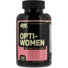 optimum nutrition opti women 120 capsules