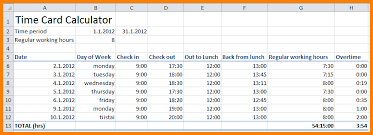 timesheet calculator with lunch time cards calculator with lunch radiovkm tk