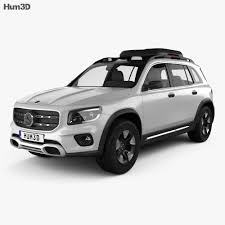 It was previously unveiled as a concept car to the public at the shanghai auto show in april 2019. Mercedes Benz Glb Class Concept 2019 3d Model Vehicles On Hum3d