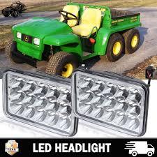 John Deere Gator Led Lights Yard Garden Outdoor Living 4x6 Led Headlight Hi Lo