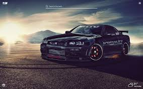 Tons of awesome gtr r32 wallpapers to download for free. Nissan Skyline Gtr Hd Wallpaper New Tab