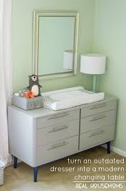 changing table attachment for dresser outdated dresser to modern changing table real housemoms inside