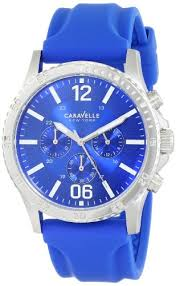 <b>Caravelle New York</b> Men s 43A117 Analog Display Japanese ...