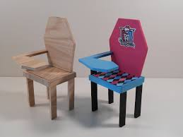 Monster High Furniture Unassembled Unfinished School …