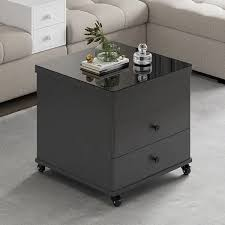 gray lift top coffee table with drawers