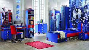 Spiderman Bedroom Decorations Bedroom Nice Boys Bedroom Sets Ideas White Blue Red Bedroom