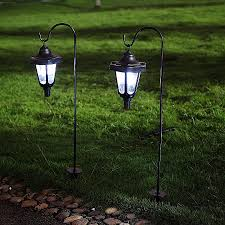 diy solar power garden lights beautiful ohuhu solar garden light solar powered led lantern light for