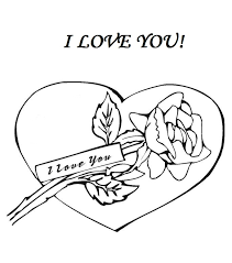 Small Picture I Love You Coloring Pages Card Coloring Pages