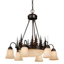 big sky downlight chandelier