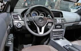 mercedes benz 2014 e class interior. 2013 detroit 2014 mercedesbenz eclass convertible interior mercedes benz e class