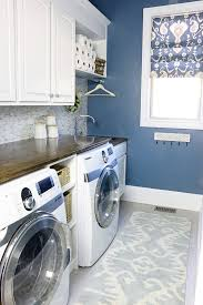Laundry room makeovers charming small Basement Laundry How To Nest For Less 20 Laundry Room Makeovers Organization And Home Decor