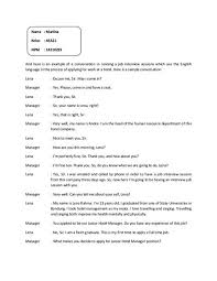 Example Dialogue Essay Example Dialogue Essay English Example Essay ...