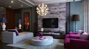 Purple Decor For Living Room Purple And Gray Living Room Living Room Grey Purple Living Room